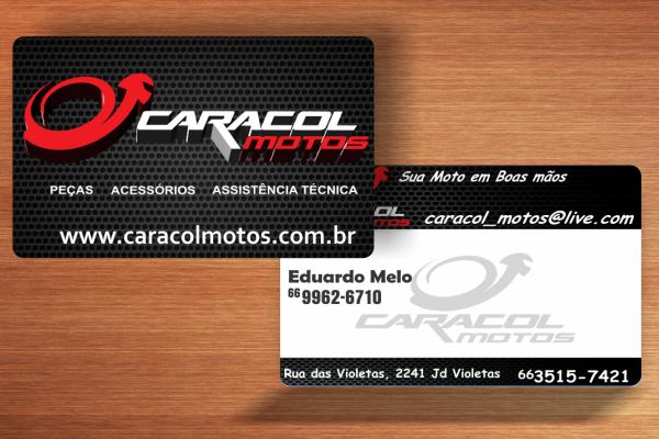 Cartão de Visita - Caracol Motos