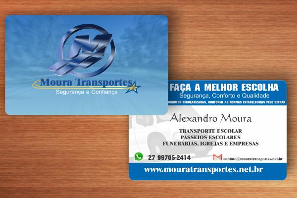 Cartão de Visita - Moura Transportes